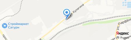 Усадьба на карте Барнаула