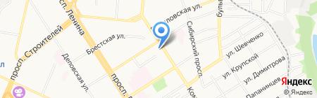 Мясная лавка на карте Барнаула