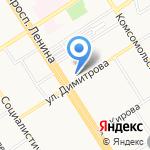 Express-печать на карте Барнаула
