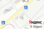 Схема проезда до компании Усадьба в Барнауле
