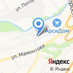 На Булыгина на карте Барнаула