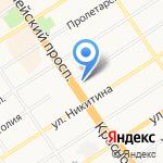 АТТЭКС на карте Барнаула