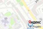 Схема проезда до компании Стеклоцентр в Барнауле
