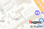 Схема проезда до компании Злато в Барнауле