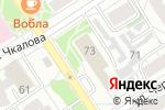 Схема проезда до компании Классный час в Барнауле