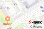 Схема проезда до компании А Тавио в Барнауле