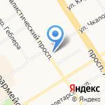 Алтайский краевой институт повышения квалификации работников образования на карте Барнаула