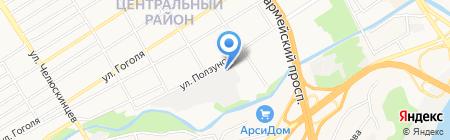 Абсолют на карте Барнаула