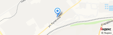 Викинг на карте Барнаула