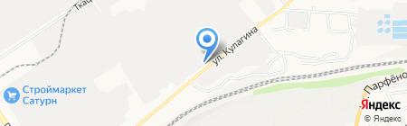 ЗИАС на карте Барнаула