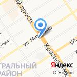 Плаза на карте Барнаула
