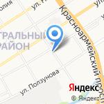 АлтайЭлектроКомплект на карте Барнаула