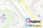 Схема проезда до компании DHL в Барнауле