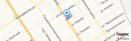 СибирьТур на карте Барнаула