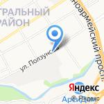 Мир жалюзи на карте Барнаула