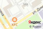 Схема проезда до компании Киоск по продаже кондитерских изделий в Барнауле