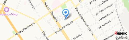 Vuz22.ru на карте Барнаула