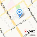 РостБизнесКонсалтинг на карте Барнаула