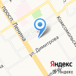 Бизнес Сервис Консалтинг на карте Барнаула