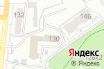 Схема проезда до компании Барнаульский учебный центр федеральной противопожарной службы в Барнауле