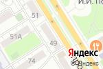 Схема проезда до компании Сотвори себя в Барнауле