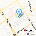 Патентный поверенный РФ Козырев А.А. на карте Барнаула