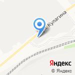 АВТОЛЕДИ на карте Барнаула