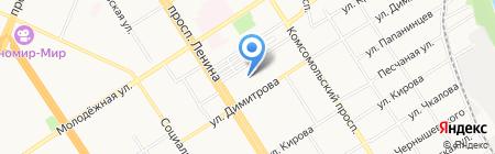 Алтайский центр строительно-технической экспертизы на карте Барнаула