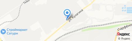 Преображение на карте Барнаула