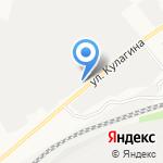 Рубикон-Алтай на карте Барнаула