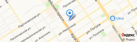 Энергетик МУП на карте Барнаула