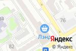 Схема проезда до компании ЗАГС Центрального района в Барнауле