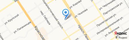 Алтайская краевая спортивная федерация Тхэквондо ИТФ на карте Барнаула