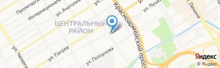 Вика на карте Барнаула