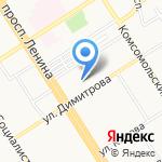 Алтайский краевой центр психолого-педагогической и медико-социальной помощи на карте Барнаула