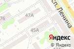 Схема проезда до компании Афродита в Барнауле
