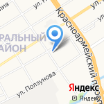 УБОЙНЫЙ КОРМ на карте Барнаула