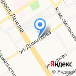 ДОН на карте Барнаула