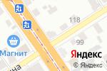Схема проезда до компании Авто Токио в Барнауле