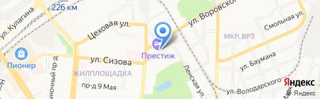Сетевая компания Алтайкрайэнерго на карте Барнаула