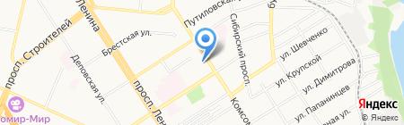 Городской комитет профсоюзов работников народного образования и науки РФ на карте Барнаула