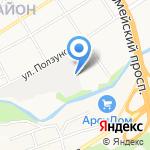 АвтоКолор на карте Барнаула