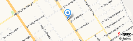 Народный бутик на карте Барнаула