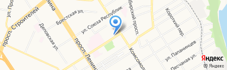 Пародонт на карте Барнаула