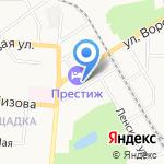 Алтайкрайэнерго на карте Барнаула