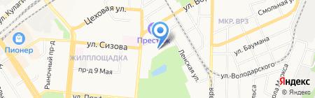 Бизнес-Индустрия на карте Барнаула