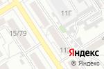 Схема проезда до компании Компания Мэйпл в Барнауле