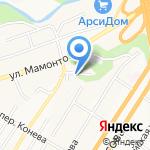 Компания по валке деревьев на карте Барнаула