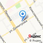 Телекомсервис-Алтай на карте Барнаула