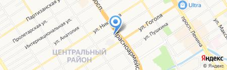Общественное благо на карте Барнаула